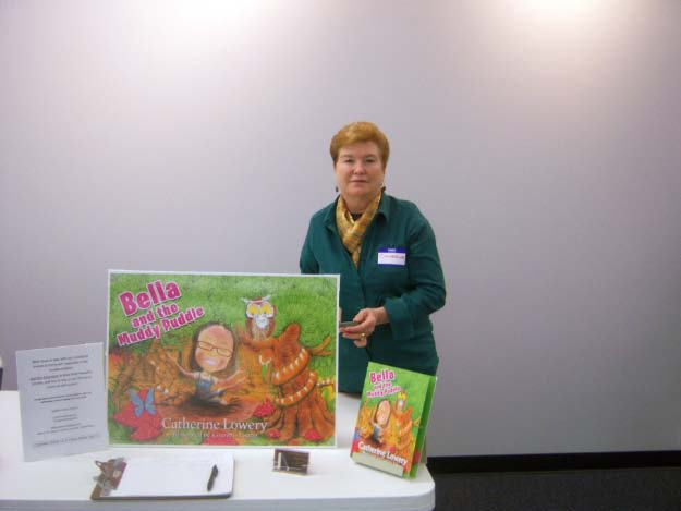 "Author Catherine Lowery - ""Bella and the Muddy Puddle"""