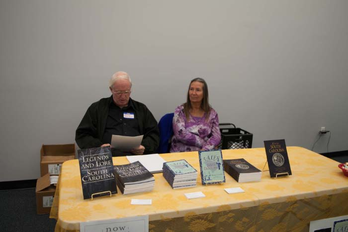 "Author Sherman Carmichael and guest - ""Legends and Lore of South Carolina"" and others"