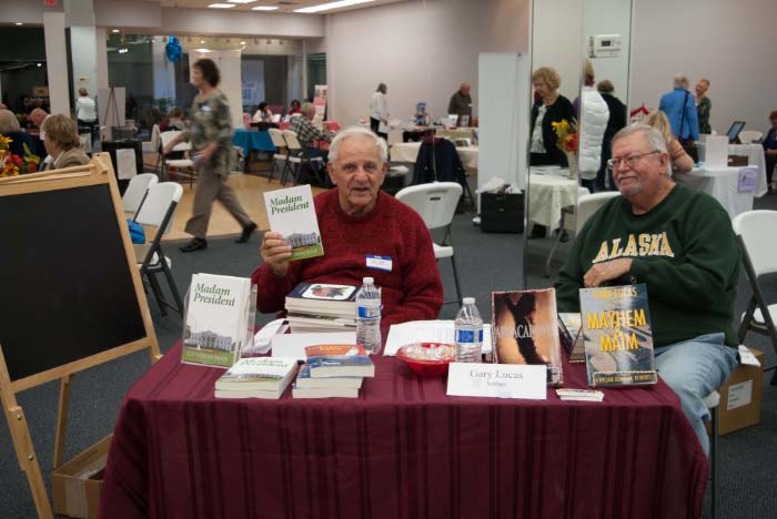 Authors Bob O'Brian and Gary Lucas