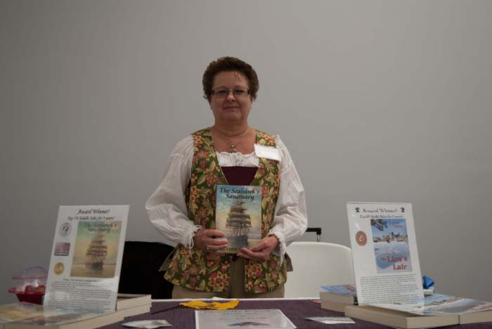 "Author Lynne Marie - ""The Lion's Lair"" and ""The Seahawk's Sanctuary"""