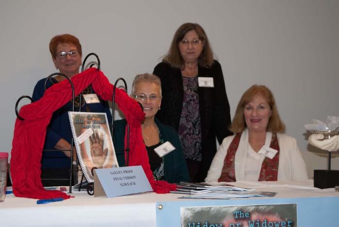Author Mary Lee Robinson and friends